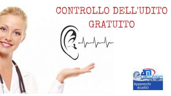 CONTROLLO DELL'UDITO GRATUITO